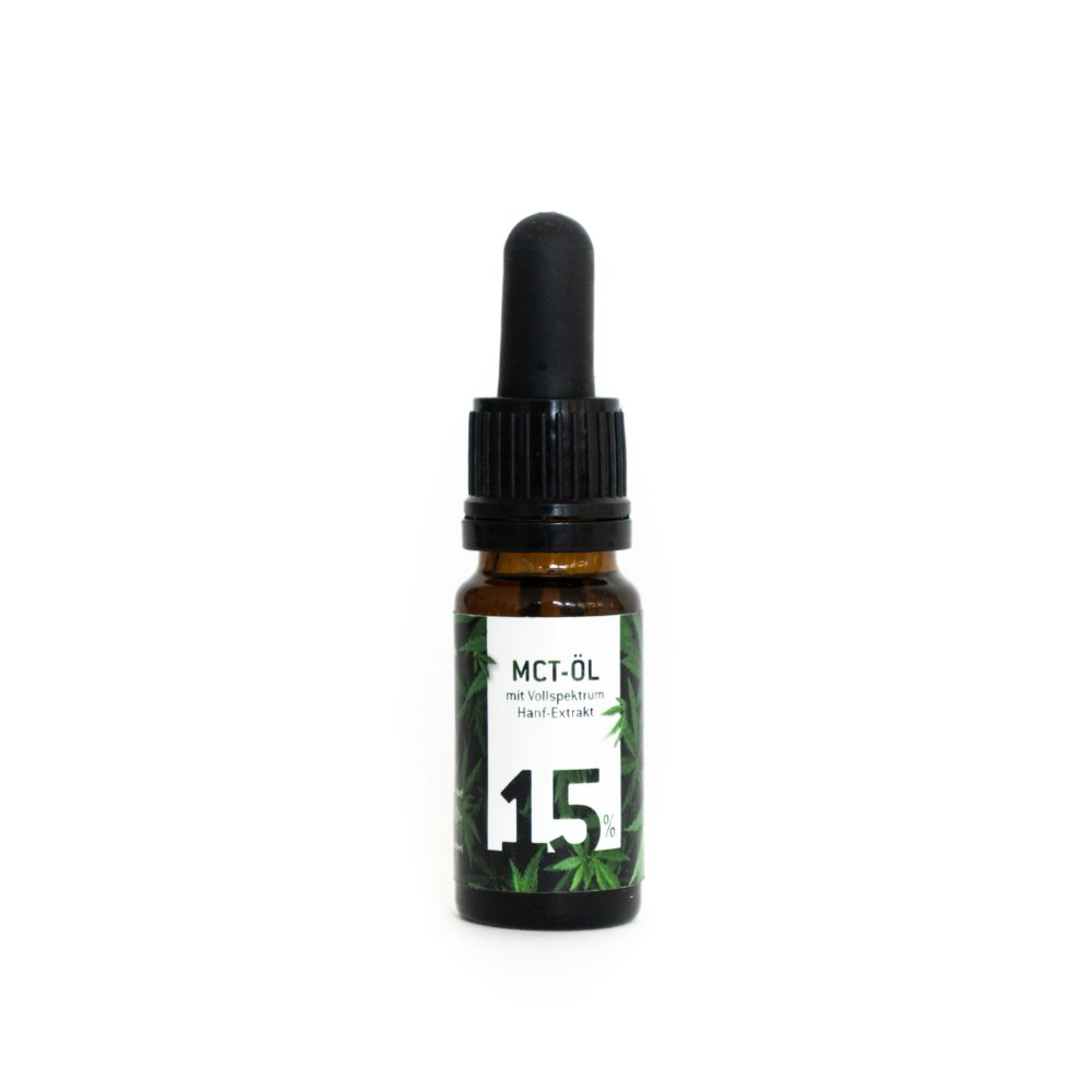 HB Produkte MCT-Öl 15% - Weedhaus Head & Grow – CBD – Hanf – Shop